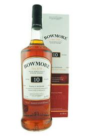Bowmore 10 Years + Gb liter