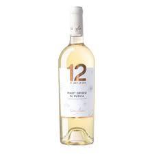 Varvaglione 12e Mezzo Pinot Grigio di Puglia 0,75 liter (ds 6 fles)