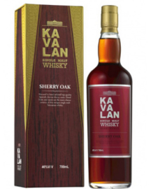Kavalan Ex Sherry Cask + Gb 0.70 Liter