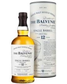 BALVENIE Balvenie 12 Years Single Barrel First Fill + Gb 0,70 Liter