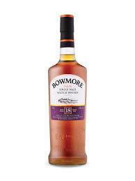 Bowmore 18 Years + Gb 0.70 Liter