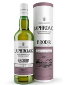 Laphroaig Brodir Port Wood Finish + Gb 0.70 Liter