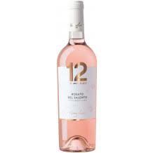 Varvaglione, 12 e Mezzo Rosato del Salento IGP 0,75 liter ( ds 6 fles)