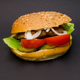 vega hamburger