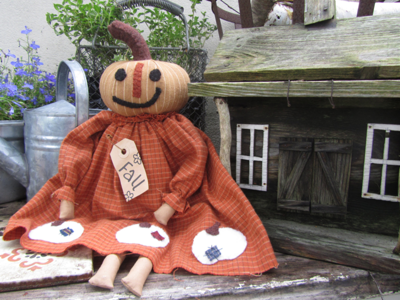 Little Pumpkin Girl