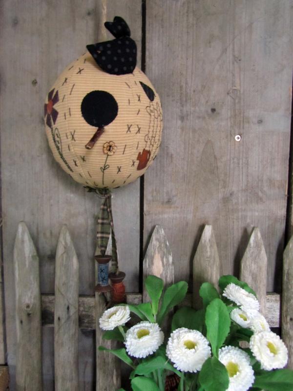 Egg Birdhouse
