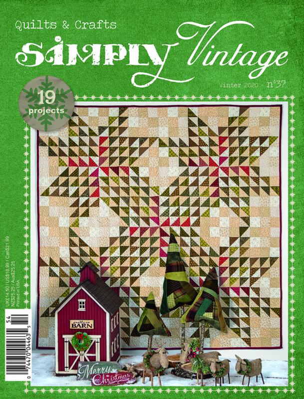 Simply Vintage nr 37 (engelstalig)