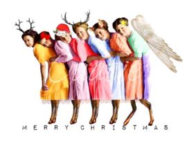 kerstbokjes - kerstkaart