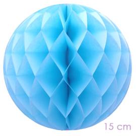 honeycomb babyblauw 15 cm