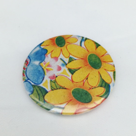 magneet gele bloemen