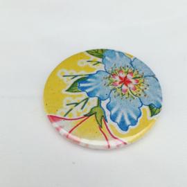 magneet blauwe bloem