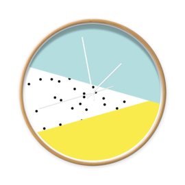 blauw - geel grafisch