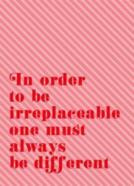Irreplaceble