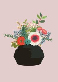 bloemenvaas Sibila (postkaart)