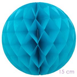 honeycomb turquoise  15 cm