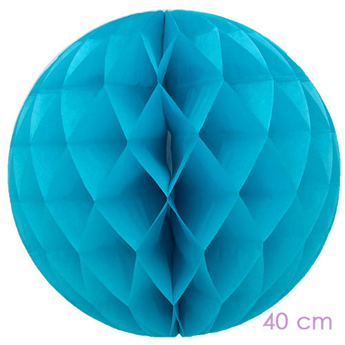 honeycomb turquoise 40 cm