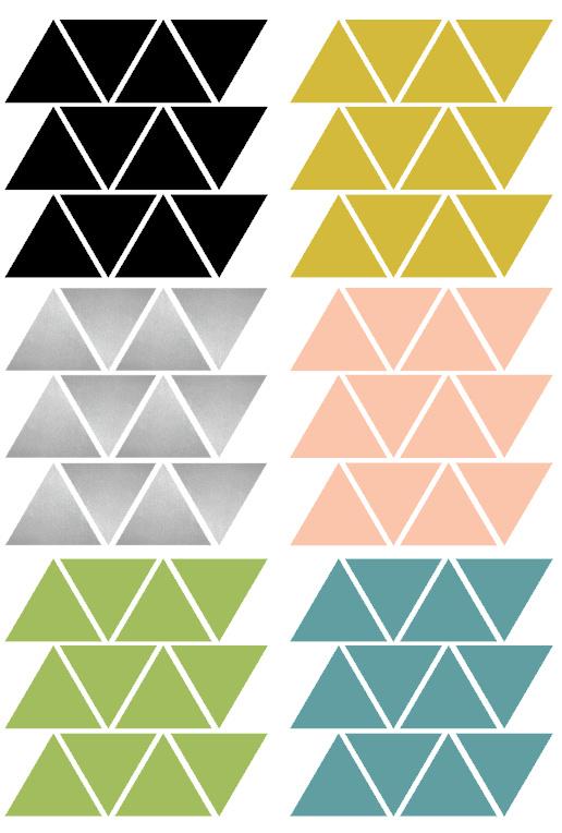 driehoekjes kleur