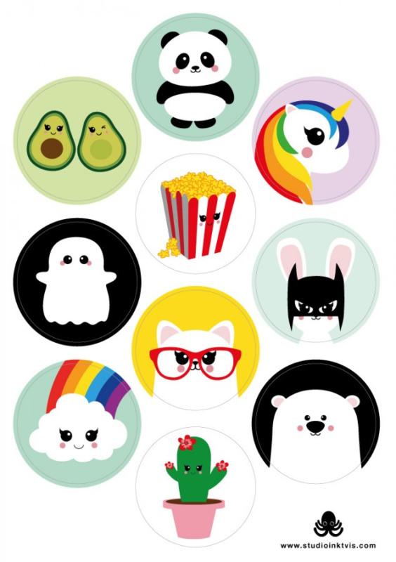 stickers - studio intkvis