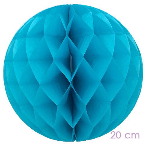 honeycomb turquoise 20 cm