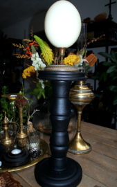 Zwarte, Houten Schedel- of Stolp Standaard