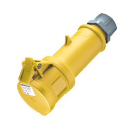 Mennekes CEE 16A 110V AC contrastekker geel 3-polig