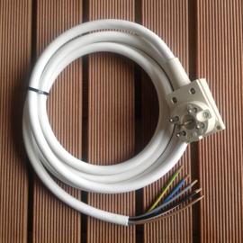 Perilex 16A aansluitkabel 5-polig