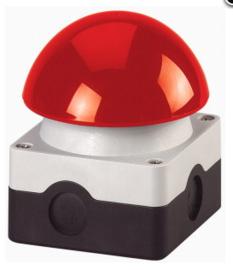 Eaton drukknop schakelaar rood