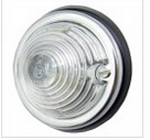 Hella breedte lamp rond wit 12V