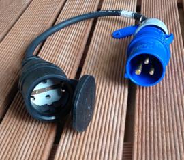 CEE 16A stroom adapter 230V