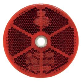 Hella reflector rond rood 60mm