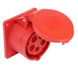 CEE 16A opbouw contactdoos 380V - 400V 70x70MM