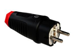 PCE Taurus2 rubber stekker randaarde 230V