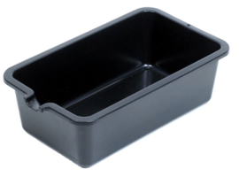 Vloeistof opvangbak zwart kunstof 5 liter