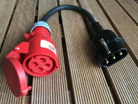 Hateha HPS 16a verloopadapter 4-polig 380V - 400V AC