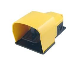 voetschakelaar geel 6A 230V AC