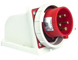 CEE 32A wand stekkerdoos 380V - 400V IP67