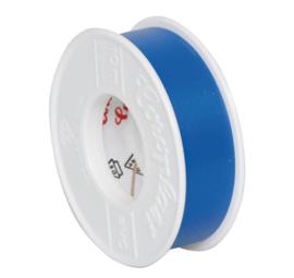 pvc isolatie tape blauw 10 meter
