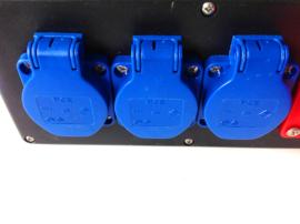 PCE Steyregg CEE 16A stroom verdeelblok 380V - 400V