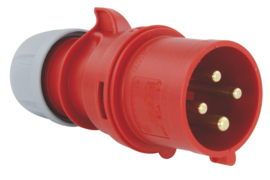CEE 32A stekker 4P 380V - 400V PCE 024-06