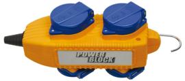 Brennenstuhl Powerblok 4 voudig verdeelblok 230V