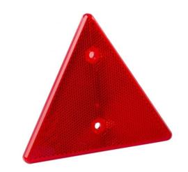 Hella reflector driehoek rood