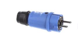 ABL Sursum stekker blauw 230V 16A IP44