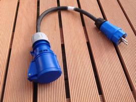 CEE 16A verloopstekkers en adapters 230V