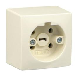 Perilex 16A opbouw wandcontactdoos