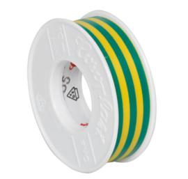 pvc isolatie tape geel - groen 10 meter