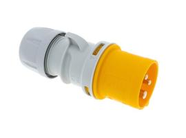 PCE CEE 16A stekker geel 110V AC