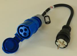CEE 16A stroom adapter 230V Heavy Duty