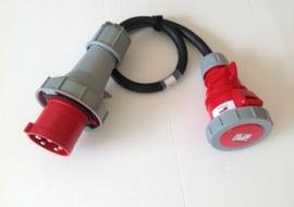 CEE 63A verloop adapter 380V - 400V IP67