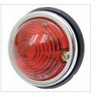 Hella breedte lamp rond rood 12V