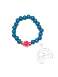 Armband Aquablauw